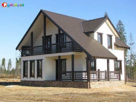 Производство и строительство каркасных домов. Могилев