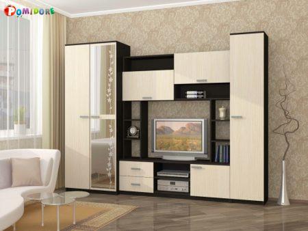 Стенка-горка в гостиную Флора-4(2.8м.)