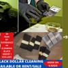 BLACK DOLLARS CLEANING MACHINE